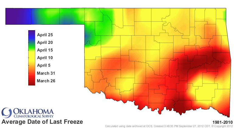 Freezing Temps Return to Oklahoma