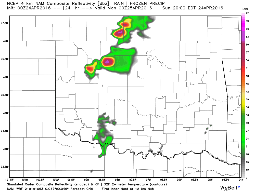 Supercell Storms Return Sunday