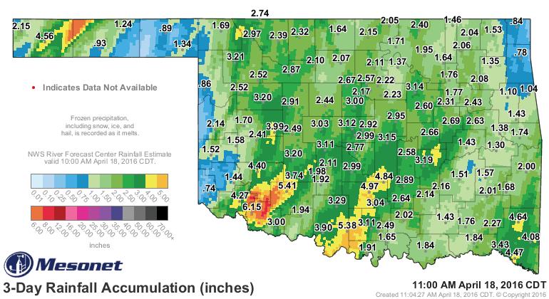 OK rain totals.