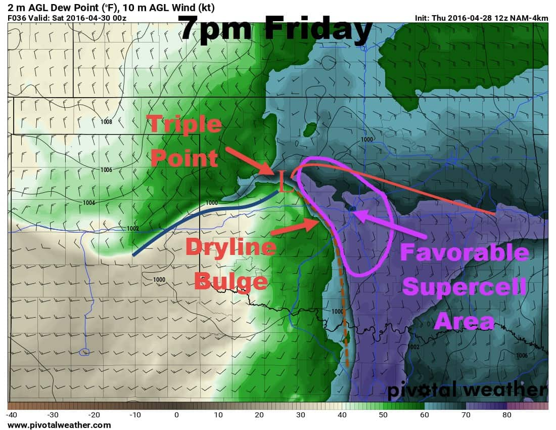 36 Hour Window – Tornadoes Still Likely Friday