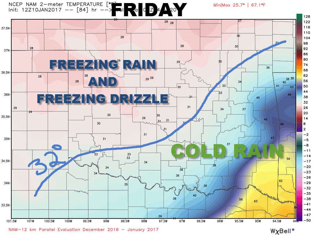 Winter Storm Update – Friday Ice Focus