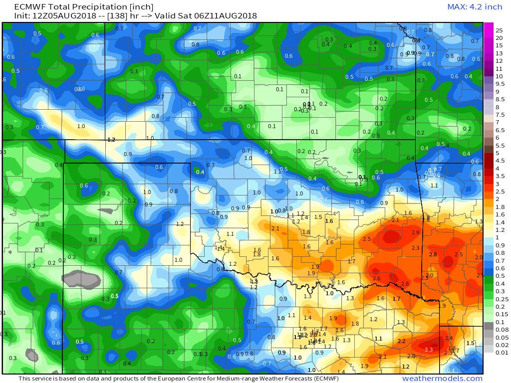 Decent Rainfall Returns This Week