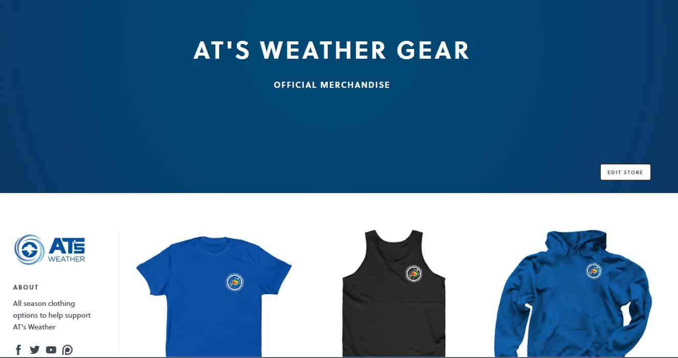"AT's ""Weather Gear"" Store Now Open!"