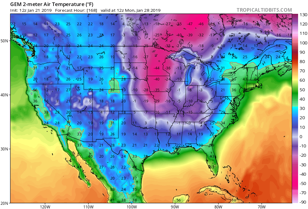 More Arctic Air and Snow Potential