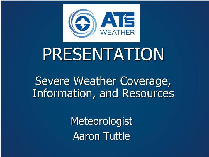 Severe Weather Coverage, Information, and Resources