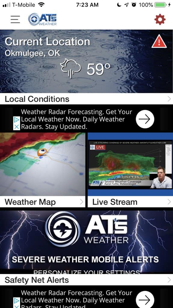 Weather App War…Game On!