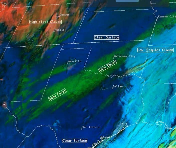 Snow Cover and Temperatures