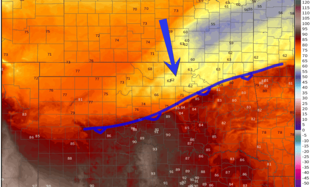 Sunday Cold Front, Storms, and More Fall Weather
