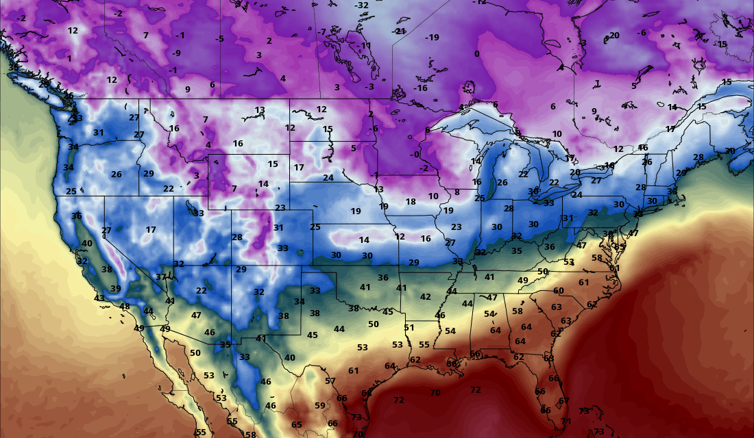 Upcoming Storm Systems and An Update on Arctic Air