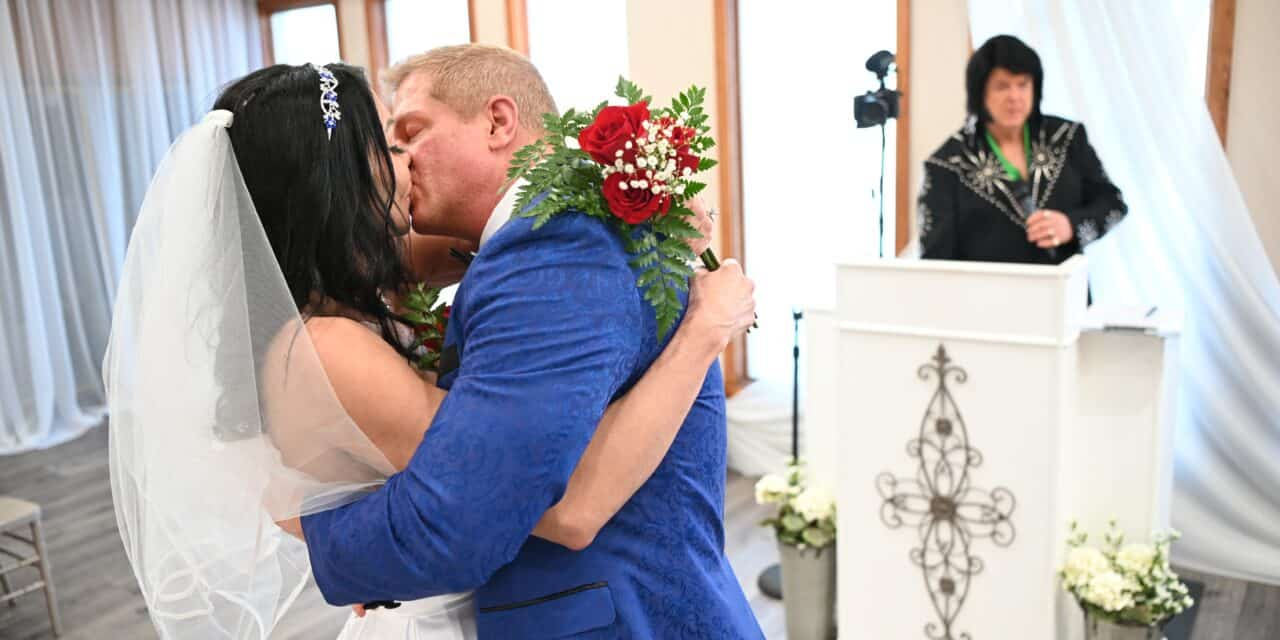 Jodi and I got Married in Vegas!