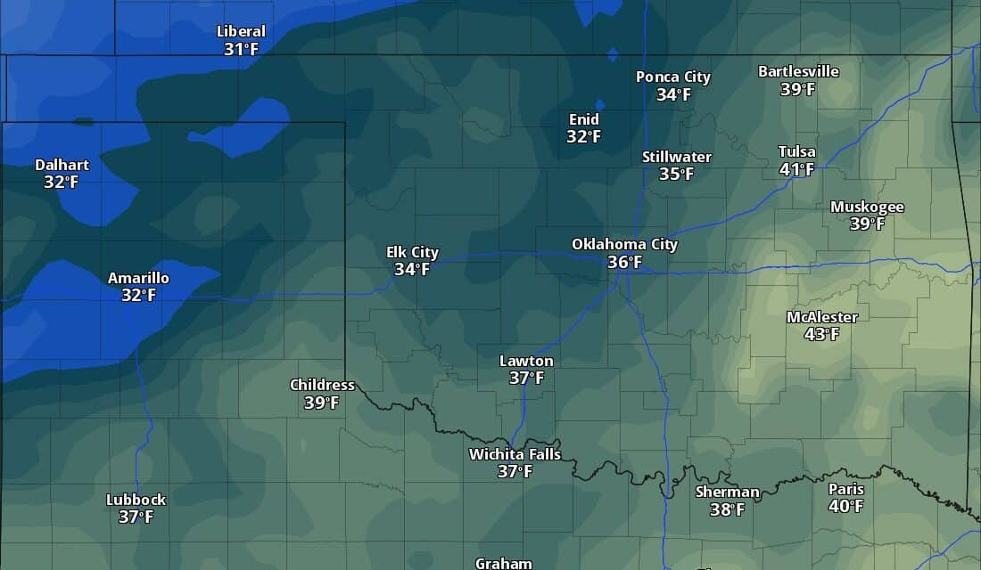 A Little Rain, Freeze, Frost, and Severe Weather