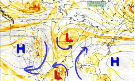 Below Normal Temperatures and More Rain for the Week