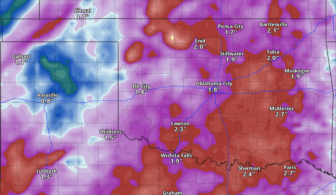 Two Upper Lows Bring Back the Rain